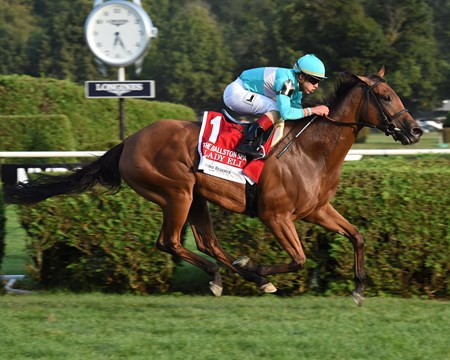 Lady Eli wins the 2017 Ballston Spa