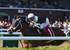Blind Ambition wins the Quick Call Stakes at Saratoga Aug. 9
