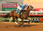 Boss Move romps by 7 1/2 lengths in her second start at Del Mar Aug. 25