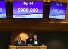 Hip 44 was the second-highest price of the first session of the Fasig-Tipton Saratoga sale