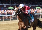 Copper Bullet wins the Saratoga Special Aug. 13