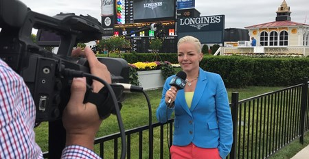 Zoe Cadman, at Pimlico Scenes from the XBTV studio and XBTV talent and cameramen on location. May 20, 2017 in , California.