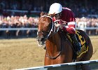 Gun Runner takes the Whitney with style