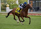 Oscar Performance wins the Secretariat Stakes at Arlington International Racecourse