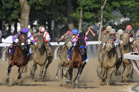 West Coast wins the 2017 Travers