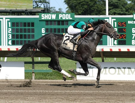 Just Call Kenny #2 with Eddie Castro riding won the $100,00 Philip H. Iselin Stakes Monmouth Park in Oceanport, New Jersey on Saturday August 26, 2017.