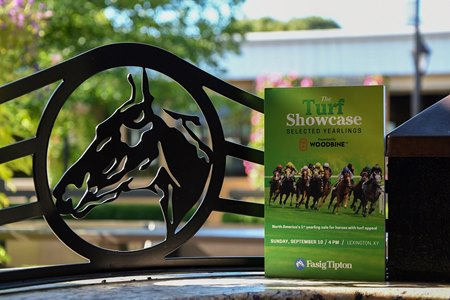 The Fasig-Tipton Turf Showcase begins Sept. 10 at 4 p.m. ET in Lexington