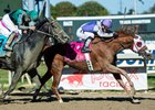 Page McKenney wins the Pa Derby Champion Stakes at Parx Racing