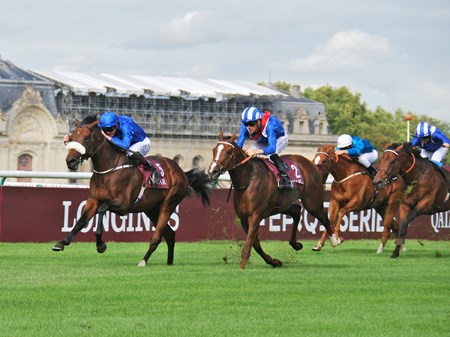 Ribchester (IRE) wins the 2017 Prix Moulin