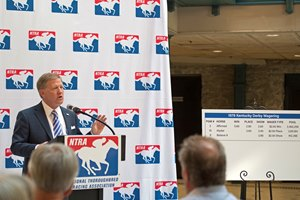 NTRA president and CEO Alex Waldrop outlined the tax withholding and reporting changes in pari-mutuel wagering in September