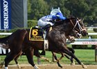 Sporting Chance takes the Sept. 4 Hopeful Stakes at Saratoga Race Course