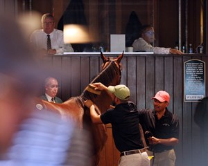 Keeneland's Book 5 was in full swing Sept. 20 with a lot of action in the back ring