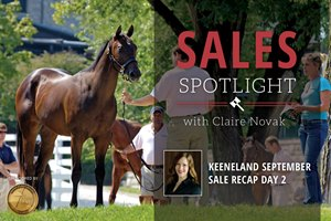 Keeneland September Sale Recap Day 2