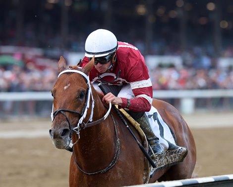 Gun Runner Much The Best In Woodward Bloodhorse