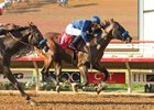 St Patrick's Day breaks his maiden Sept. 2 at Del Mar