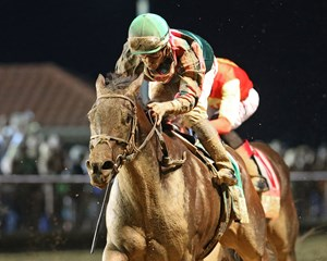 Tequilita wins the Charles Town Oaks Sept. 23