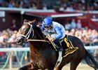 Sporting Chance wins the Sept. 4 Hopeful Stakes at Saratoga