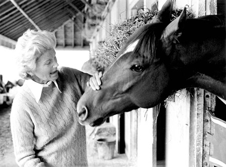 Secretariat with Penny Tweedy
