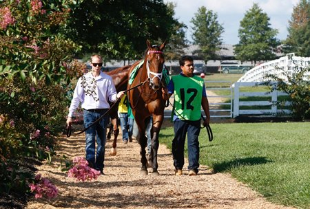 Racing at Kentucky Downs begins Sept. 6 after rain delayed the weekend start