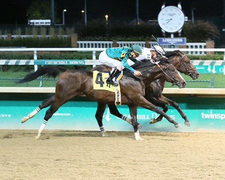 Quip - Maiden Win, Churchill Downs - September 23, 2017