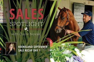 Keeneland September Sale Recap Day 1