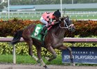 Renaisance Frolic wins the Armed Forces Stakes at Gulfstream Park