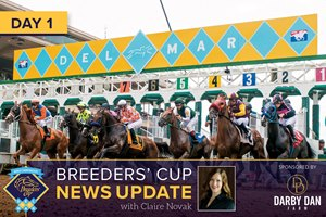 2017 Breeders' Cup News Update Day 1