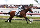 Boom Time streaks home to win the Caulfield Cup