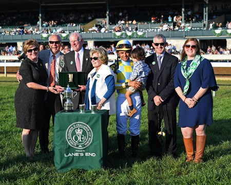 l-r, Debby and John Oxley, Will and Sarah Farish, Jose Lezcano and son Noah, David Carroll, Sarah Campion