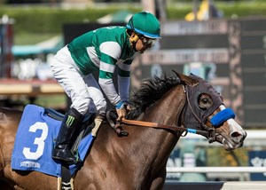 Artistic Diva wins the Anoakia Stakes