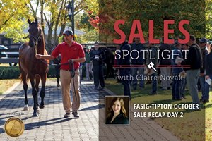 2017 Fasig-Tipton October Sale Recap Day 2