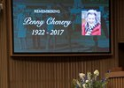 Davis attended the celebration of life for Penny Chenery in October at Keeneland