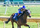 Princess A'go Go breaks her maiden Oct. 4 at Delaware Park by 7 3/4 lengths
