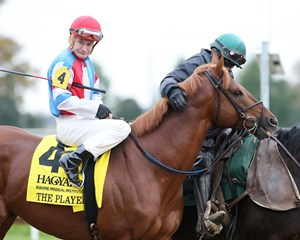 The Player wins the 2017 Hagyard Fayette Stakes