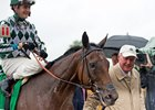 Romantic Vision with owner G. Watts Humphrey Jr.'s after her victory in the Oct. 8 Spinster