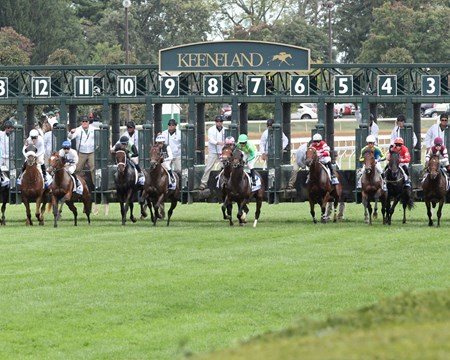 Suedois wins the 2017 Shadwell Turf Mile