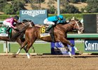 Roy H wins the Santa Anita Sprint Championship under Kent Desormeaux