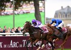Happily wins the group 1 Qatar Prix Jean-Luc Lagardere at Chantilly