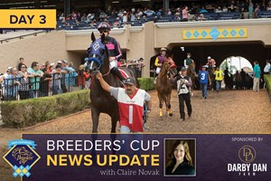 Breeders' Cup News Update Day 3
