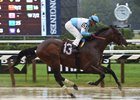 Lone Sailor skips over the slop to win by 11 lengths Sept. 3 at Saratoga Race Course