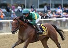 Engage wins the Futurity Stakes at Belmont Park
