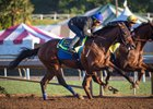 West Coast (outside) works with Cat Burglar Oct. 15 at Santa Anita