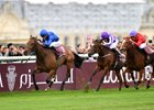 Wild Illusion wins the Prix Marcel Boussac at Chantilly