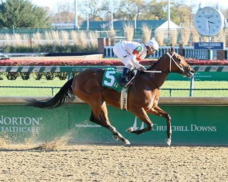 Mia Mischief - AOC, Churchill Downs, November 25, 2017