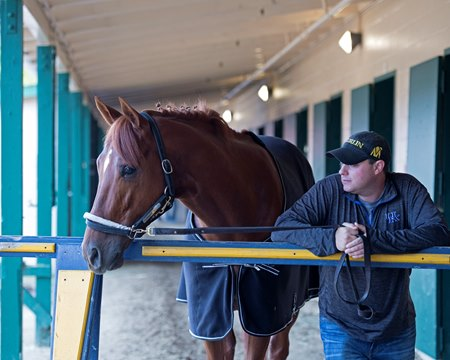 Mind Your Biscuits with trainer Chad Summers