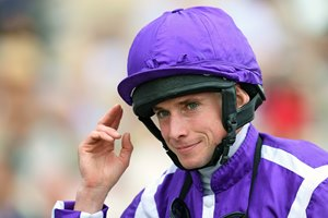 Ryan Moore will ride Expert Eye in the Greenham Stakes at Newbury