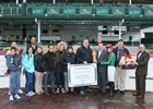 Trainer Dale Romans gets his 703rd winner at Churchill Downs Nov. 12