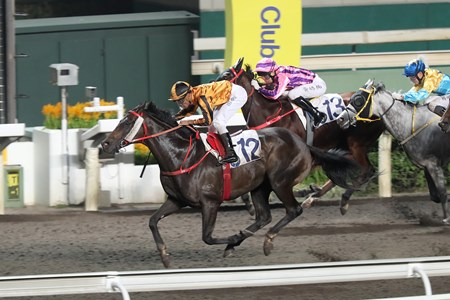 Imperial Concorde wins the 2017 Tiu Yue Yung Handicap