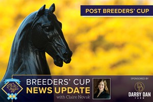 Breeders' Cup Post Wrap