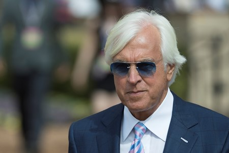 Bob Baffert at Del Mar on November 3, 2017.